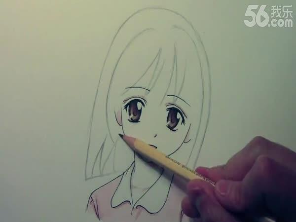 大师教你怎么画好漫画人物头发